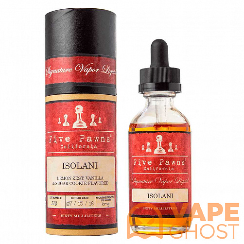 Жидкость Five Pawns Red Isolani 60 мл