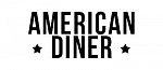 Логотип бренда American Diner by Relakes Vape