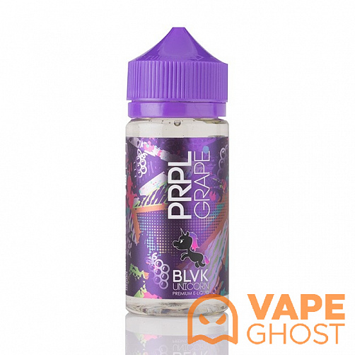 Жидкость BLVK Unicorn PRPL Grape 100 мл (3 Мг)