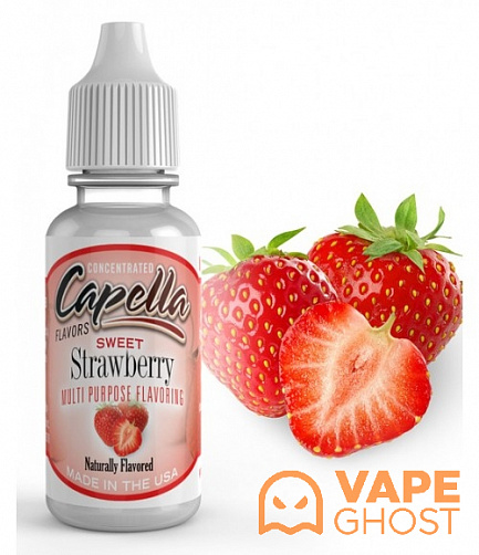 Ароматизатор Capella Sweet Strawberry 10 мл