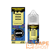 Жидкость Ohm Nom Nom Anniversary Edition Salt Blueberry Donut 30 мл