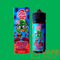 Жидкость Cotton Candy Zombie Cola Salt Purple Grape 120 мл