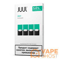 Картридж Juul Labs Mint x 4 шт