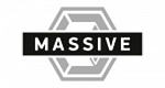Логотип бренда Massive by Blackbox Liquids