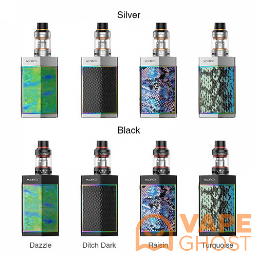 Набор Voopoo Too Kit 180W (Серебристый)