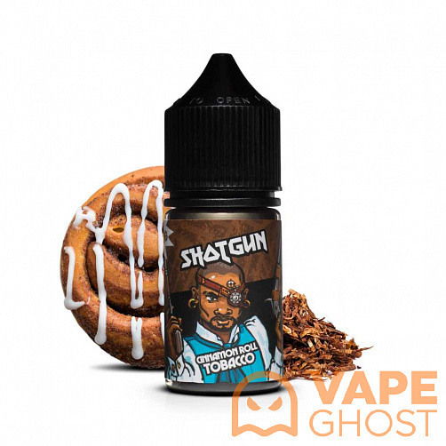 Жидкость Shotgun Cinnamon Roll Tobacco 30 мл (12 Мг)