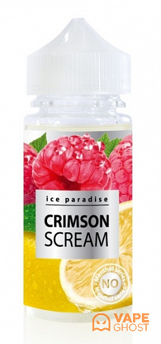 Жидкость Ice Paradise No Menthol Crimson Scream 100 мл