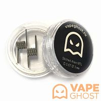 Комплект спиралей Vape Ghost Coil Stiched Alien MTL 2 шт 0.67 Ом
