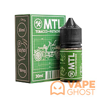 Жидкость MTL Tobacco with Pistachio 30 мл