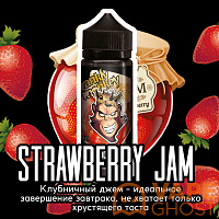 Жидкость Frankly Monkey Black Strawberry Jam 120 мл