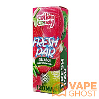 Жидкость Cotton Candy Fresh Par Guava Sweet Strawberry 120 мл